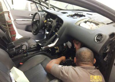 Manutenção do Air Bag Peugeot 3008